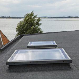 dakkoepel voor plat dak